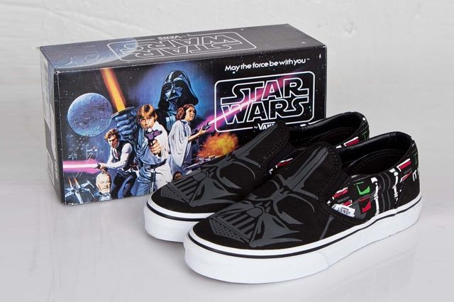 Vans Classic Slip On Darth Vader 1