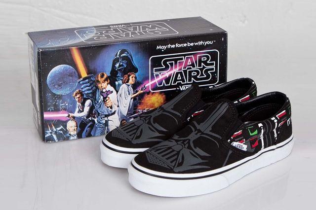 Vans Classic Slip On Darth Vader 1