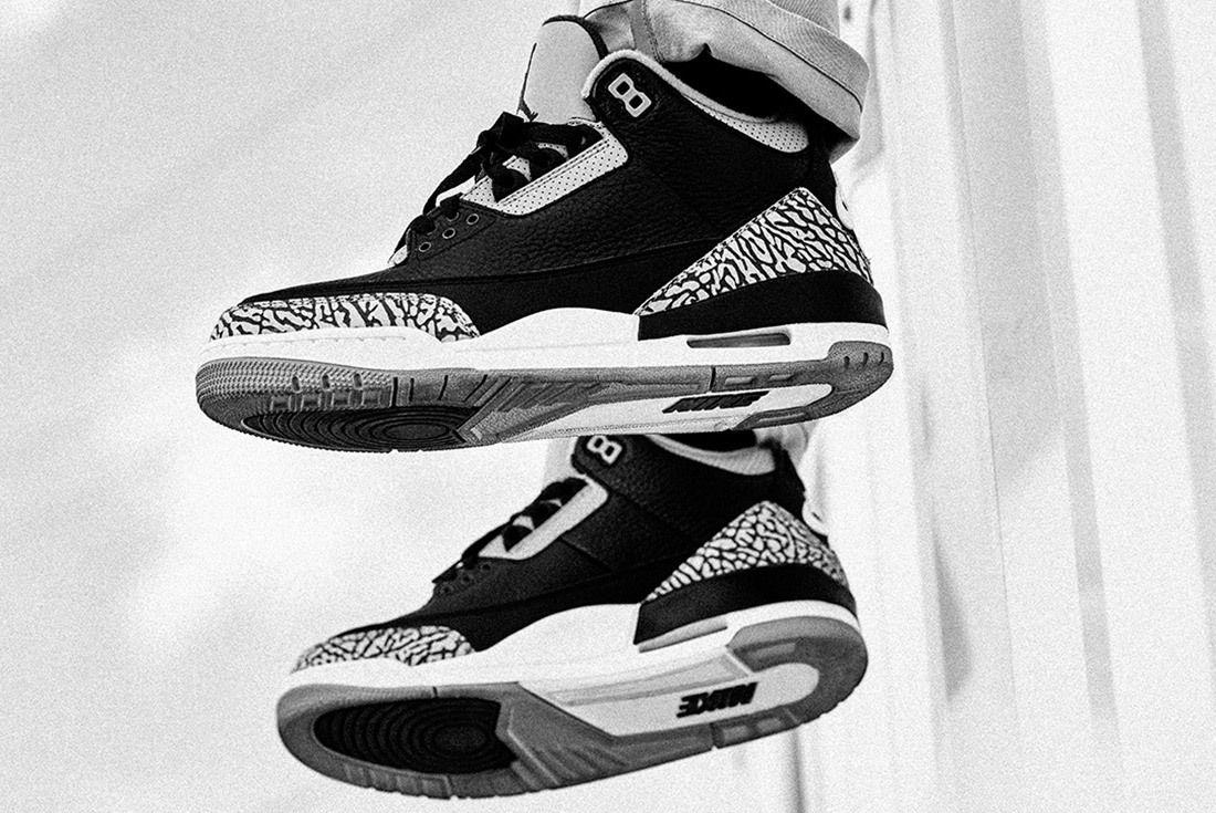 Air Jordan 3 Black Cement Australia 8