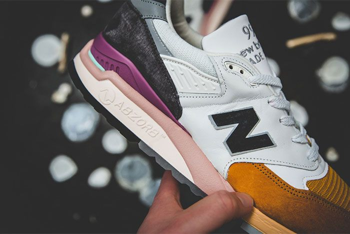New Balance 998 Coastal Pack Orange Detail