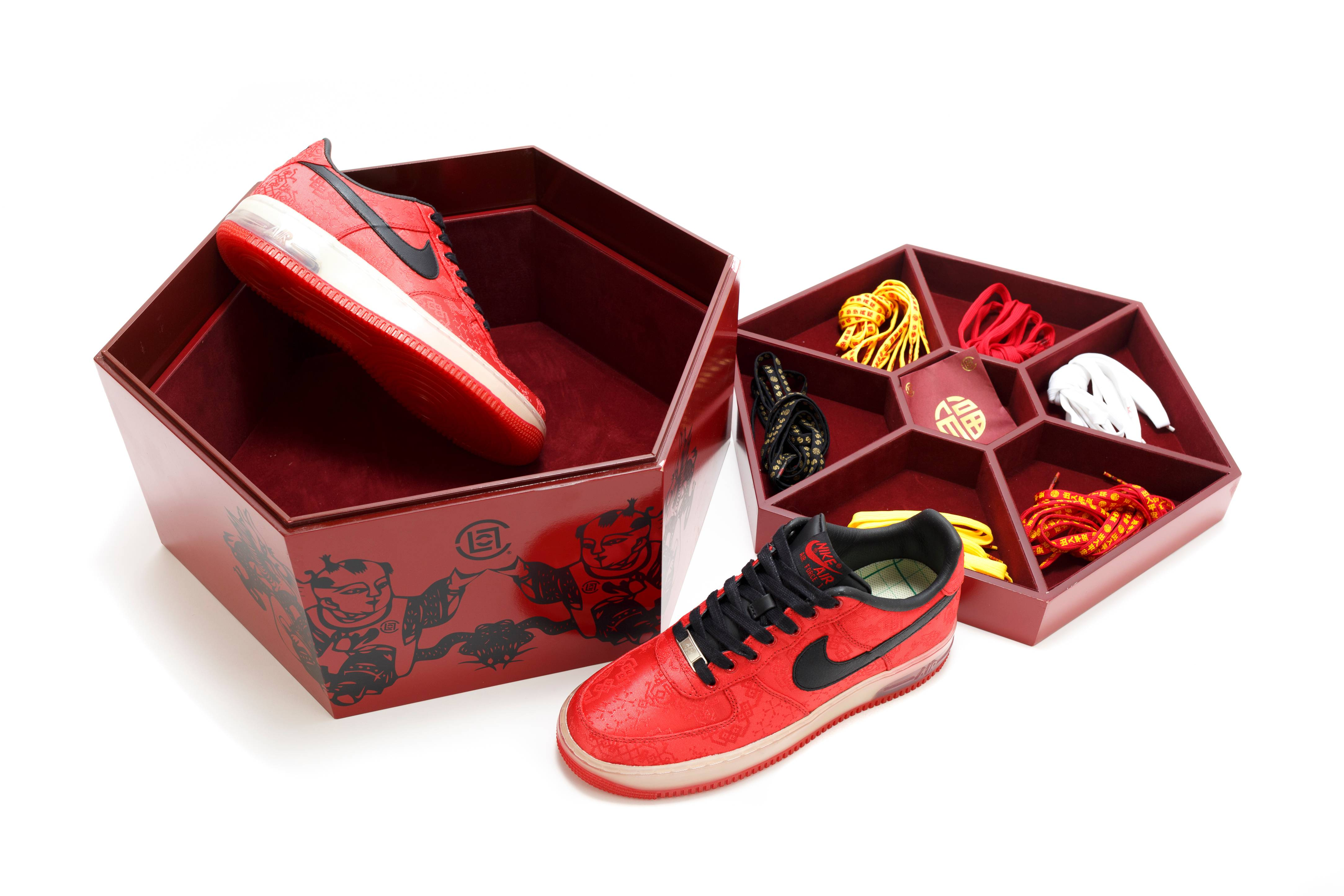 Nike Air Force 1 Low 1WORLD CLOT Special Box Edition