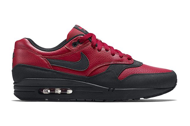 Nike Air Max 1 Leather Gym Red 2