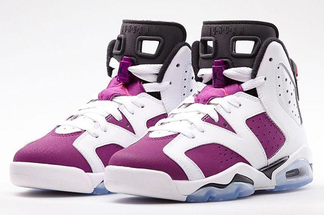 Air Jordan 6 Vivid Pink 1