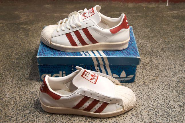 Adidas Superstar Red White 1