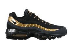Nike Am95 Black Gold 2015 Thumb