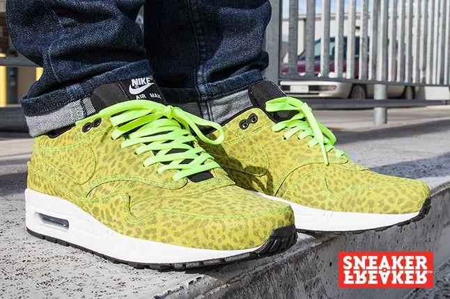 Nike Air Max 1 Fb Yellow Leopard Sneaker Freaker 1