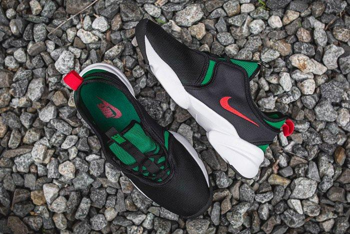 Nike Loden Womens Black Atomic Red Pine Green 5