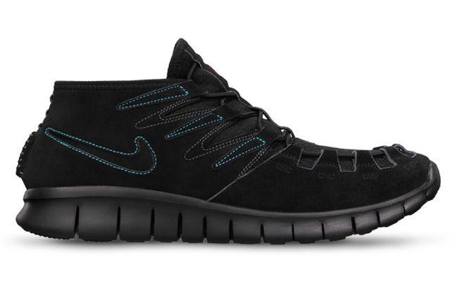 Extra Product Shoe Freeforward Mens Black Side Profile 1