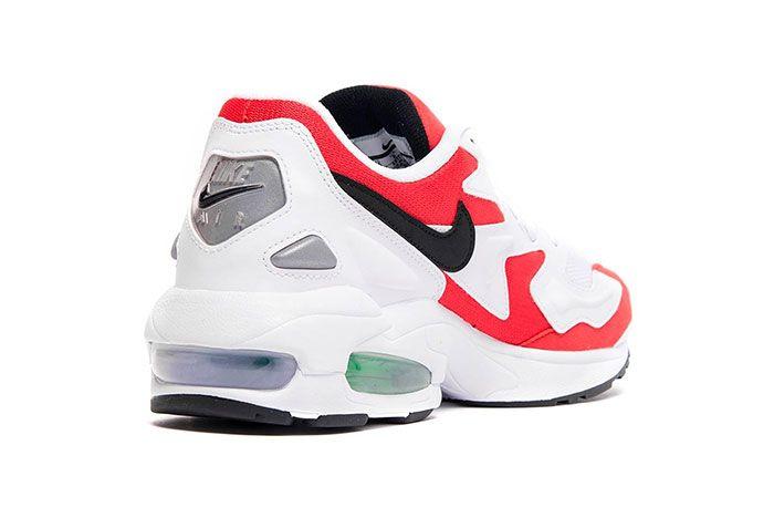 Nike Air Max 2 Light Habanero Red Heel Angle Shot 4