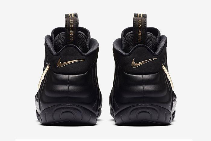 Nike Air Foamposite Pro Black Gold 3