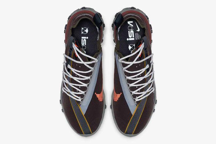 Nike Ispa React Low Velvet Brown Top