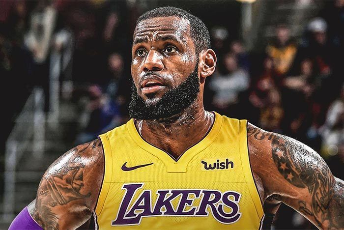 Lebron James La Lakers Nike Lebron Witness 3 1
