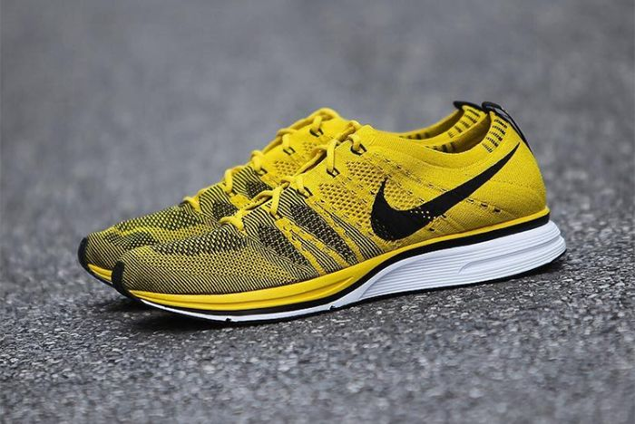 Nike Flyknit Racer Bright Citron 10