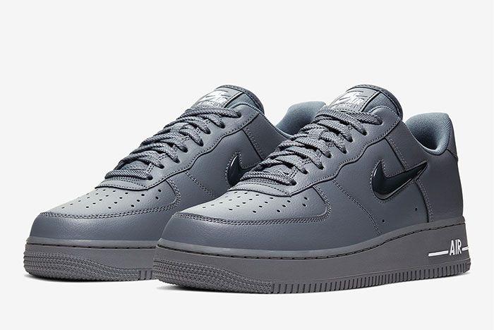 Nike Air Force 1 Low Jewel Grey Toe