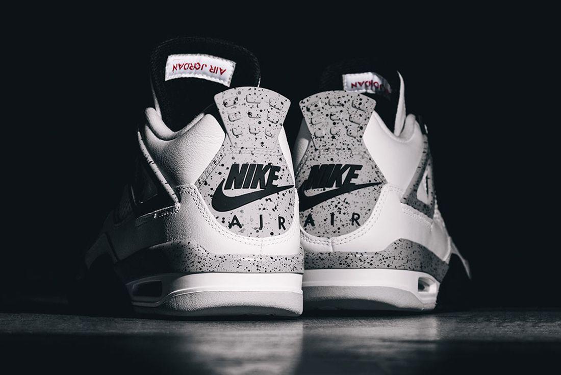 The Air Jordan 4 'White Cement' Has a
