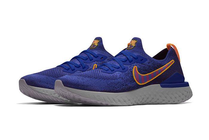 Nike Epic React Flyknit 2 Barcelona Blue
