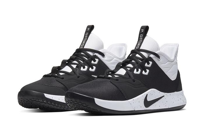 Nike Pg 3 Team Bank Black White Pair