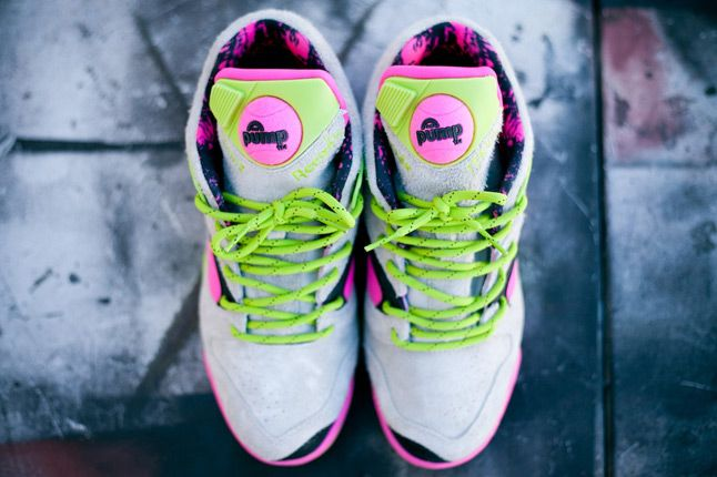 Reebok Omni Lite Pump Grey Feature Sneaker Boutique Top 1