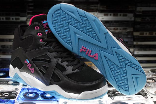 The Cage By Fila Black Pink Blue 1 1