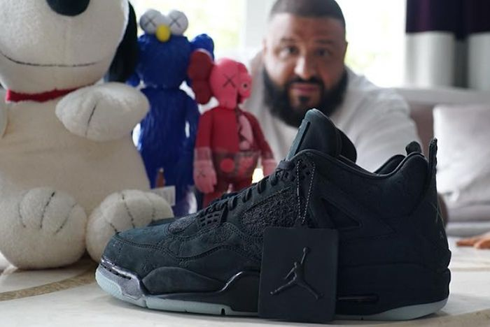 Kaws Gifts Dj Khaled Friends Family Air Jordan 4S Wider Release Rumoured4