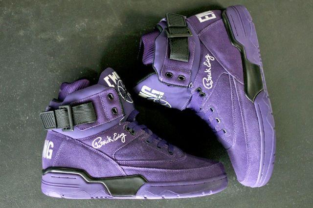 Ewing Athletics 330Hi Purple Suede 1