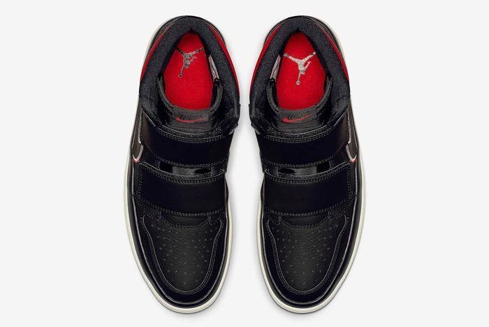 Air Jordan 1 Double Strap Red Black 4