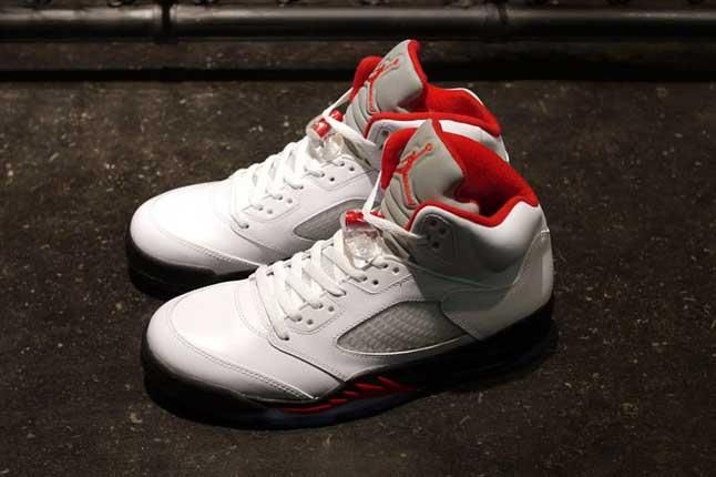 Ajv White Fire Red Flame Hero Pair 1