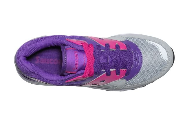 Saucony Master Control Girls Purple Insole 1