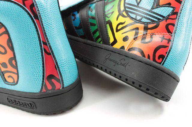Jeremy Scott Adidas Originals Letters Multi 3