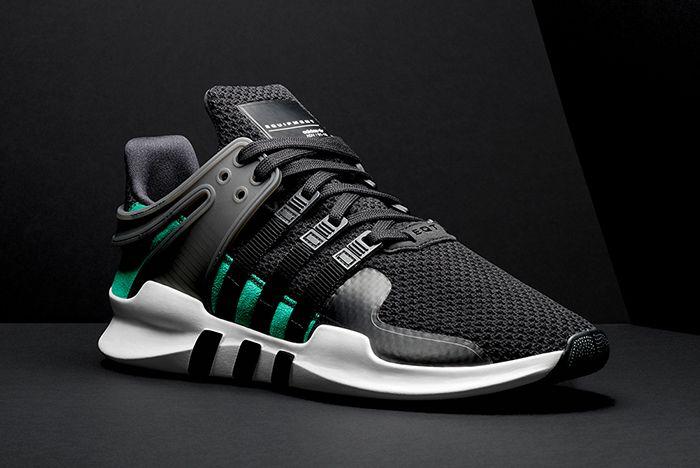 Adidas Eqt Adv Support Blacksub Greenfeature