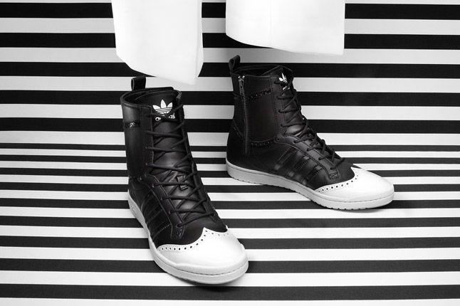 Adidas Top Ten High Sleek Brogue Black 1