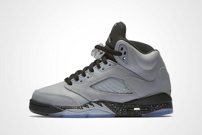 Air Jordan 5 Gs Wolf Grey Thumb