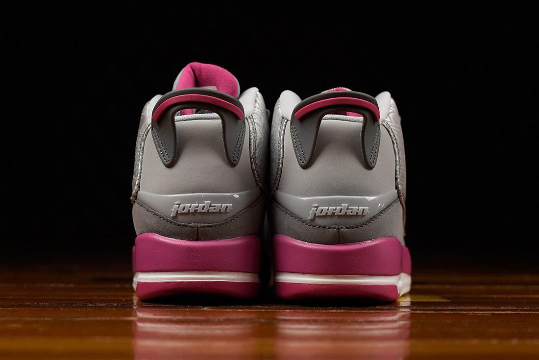 Air Jordan Dub Zero Gg Vivid Pink3