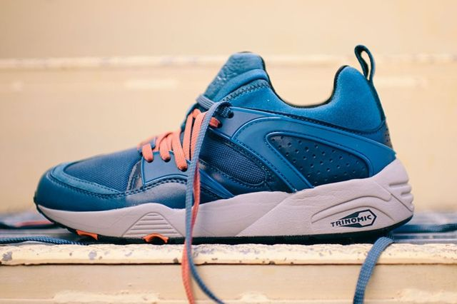 Puma Blaze Of Glory Leather Legion Blue 2