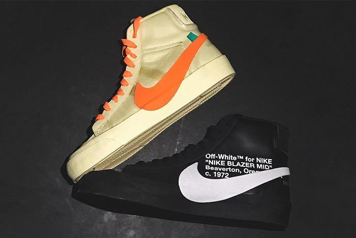 Off White X Nike Spooky Pack Blazer Mid All Hallows Eve Grim Reepers 2