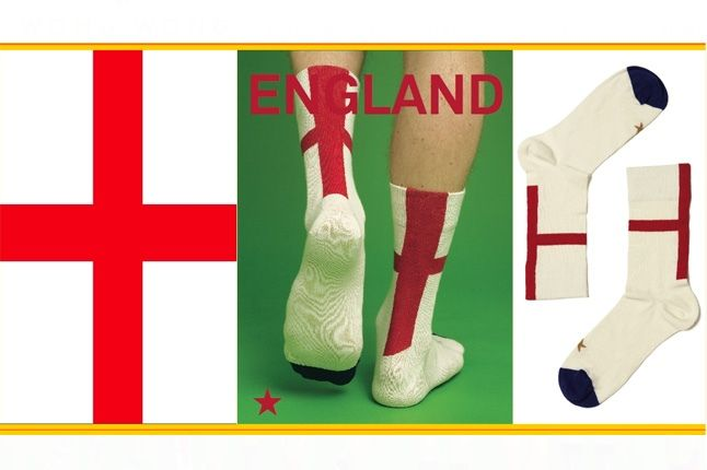 World Cup Socks Wong Wong England 1
