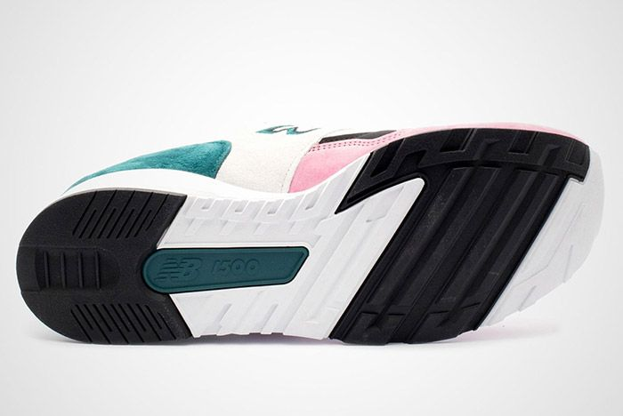 New Balance 1500 Made In England Teal Pink White Black 4