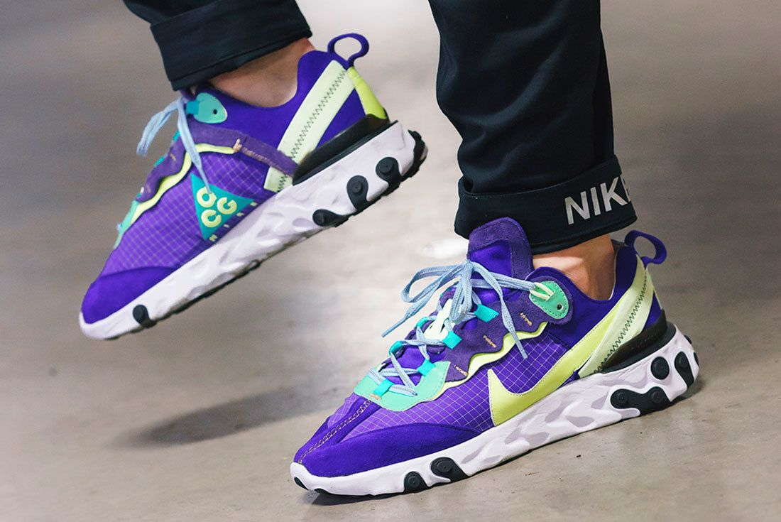 Bespoke Ind Nike React Element 87 Acg On Foot 3