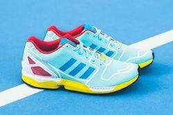 Adidas Zx Flux Techfit Og Aqua Yellow Thumb