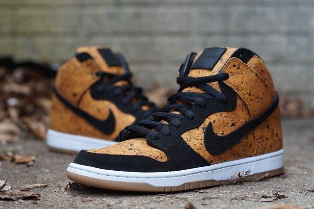 Nike Sb Dunk High Custom By Jbf Customs Cork 3