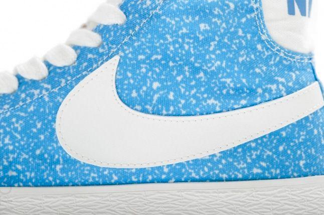 Nike Blazer Mid Decon Canvas Light Blue Swoosh 1