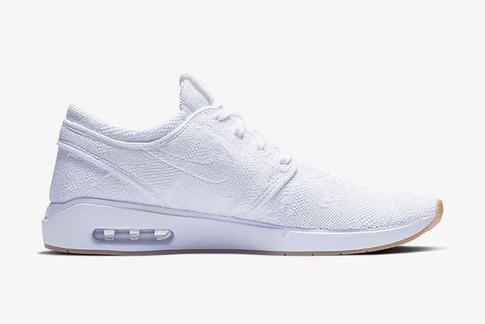 Nike Sb Air Max Janoski 2 White Medial