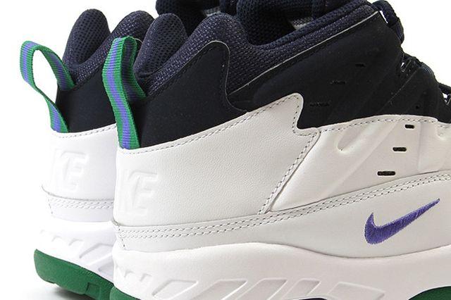 Nike Air Flare Persian Violet Green 4