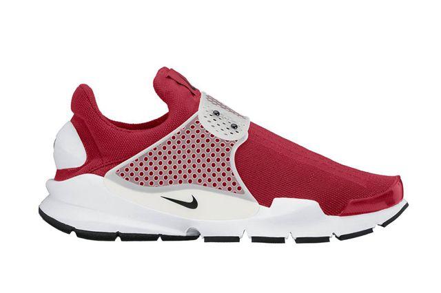Nike Sock Dart Red White