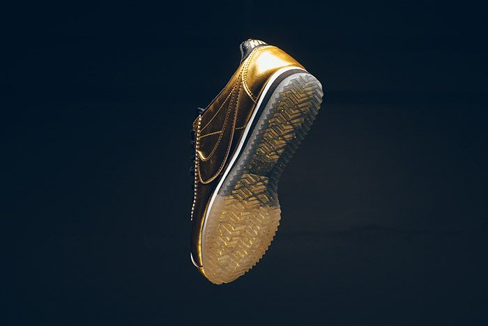 Nike Classic Cortez Metallic Gold 6