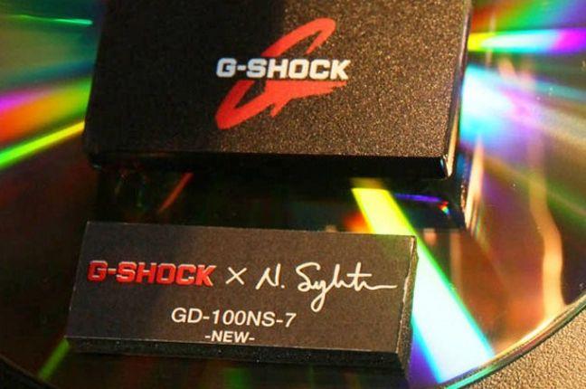 Nigel Sylvester G Shock Gd 100 Ns 7 2 1