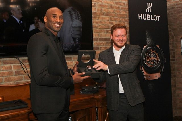 Kobe Bryant Hublot King Power Black Mamba King Gold 5