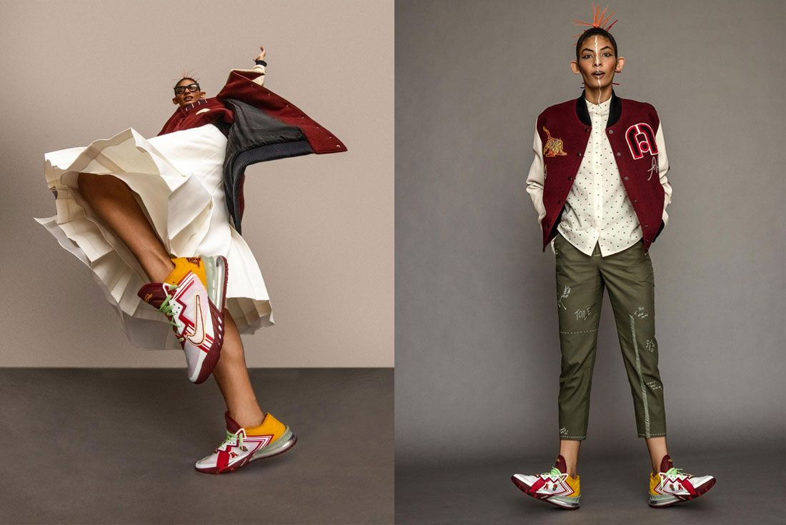 Mimi Plange x Nike LeBron 18 Low 'Higher Learning'