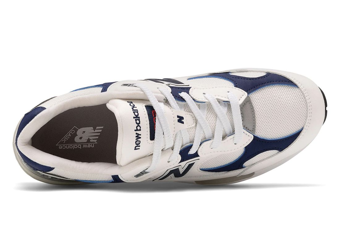 New Balance 992 Navy White Top