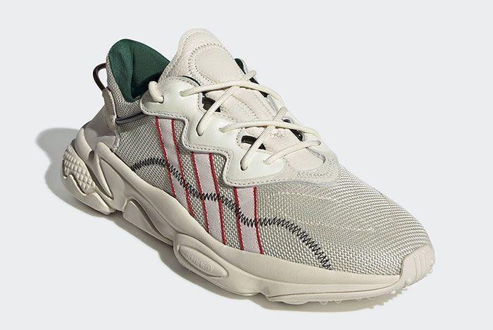 Pusha T Adidas Ozweego Eh0242 Front Angle